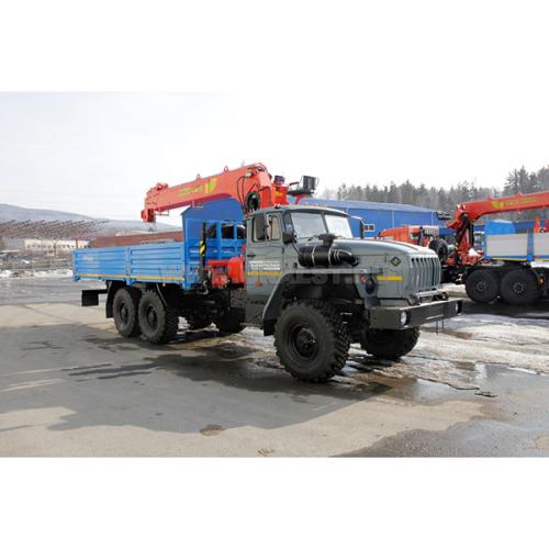 Бортовой автомобиль Урал 4320-72М с КМУ ИТ-180  УСТ-54532