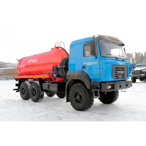 Автоцистерна вакуумная МВ-10Т КО на шасси Урал 5557-82М УСТ-5453