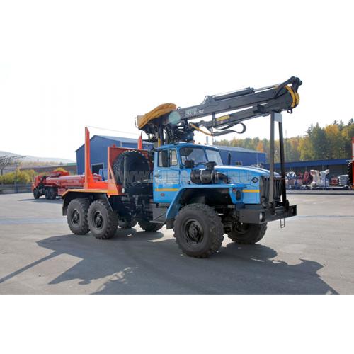 Лесовоз Урал 5557-60 с ГМ ОМТЛ-97 УСТ-54538